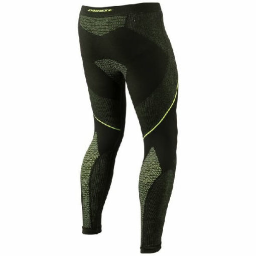 Dainese D Core Dry Black Fluorescent Yellow Riding Pant LL 2