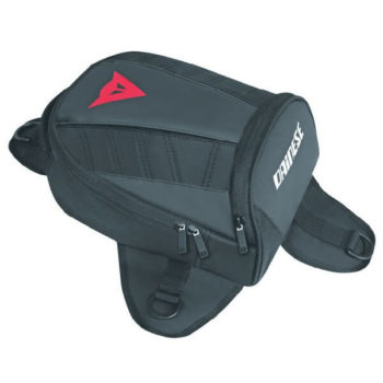 Dainese D Tanker Stealth Black Motercycle Mini Bag 1