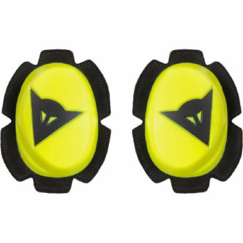 Dainese Fluorescent Yellow Black Pista Knee Slider 1