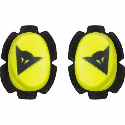 Dainese Fluorescent Yellow Black Pista Knee Slider 1