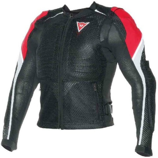 Dainese Sports Guard Black Red Riding Jacket 1