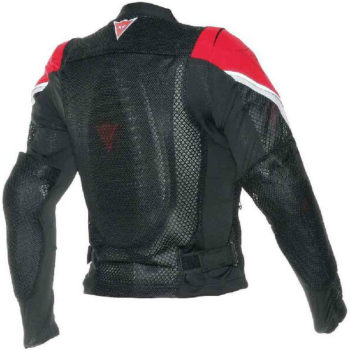 Dainese Sports Guard Black Red Riding Jacket 2