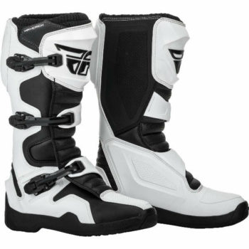Fly Racing Maverik 2019 White Black Riding Boots