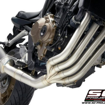 SC Project 4 in 1 Full System H31 C115T Exhaust With Titanium SC1 M Muffler For Honda CBR 650 R 1