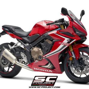 SC Project 4 in 1 Full System H31 C90T Exhaust With Titanium SC1 R Muffler For Honda CBR 650 R 2