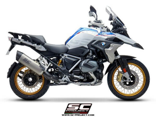SC Project Adventure B30 86T Slip On Titanium Exhaust For BMW R1250 GS GSA 3