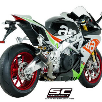 SC Project CRT A16 36c Slip On Carbon Fiber Exhaust For Aprilia RSV4 1