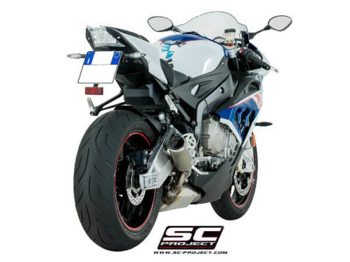 SC Project CRT B25 T36C Slip On Cabon Fiber Exhaust For BMW S1000 RR 3