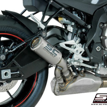 SC Project CRT B27 T36C Slip On Cabon Fiber Exhaust For BMW S1000 R 2