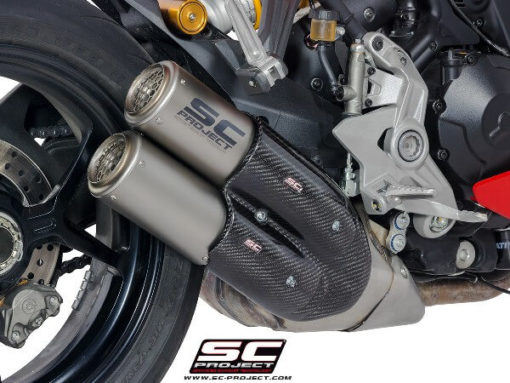 SC Project CRT D21 D36T Slip On Titanium Exhaust For Ducati Supersport 939 2