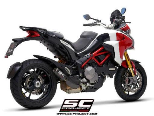 SC Project CRT D30 36C Slip on Carbon Fiber Exhaust For Ducati Multistrada 1260 1