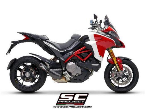 SC Project CRT D30 36C Slip on Carbon Fiber Exhaust For Ducati Multistrada 1260 3
