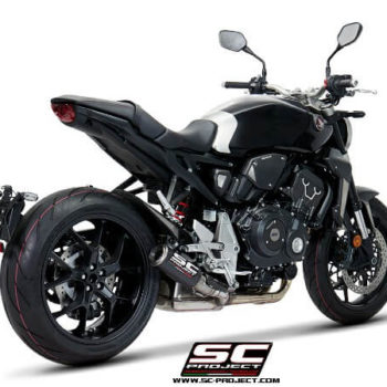 SC Project CRT H27 T38C Slip On Carbon Fiber Exhaust For Honda CB 1000R Neo Sport Cafe 1