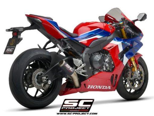 SC Project CRT H35 T36C Slip On Carbon Fiber Exhaust For Honda CBR 1000RR 1