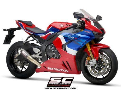 SC Project CRT H35 T36C Slip On Carbon Fiber Exhaust For Honda CBR 1000RR 3