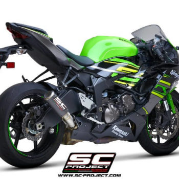 SC Project CRT K35 T36C Slip On Carbon Fiber Exhaust For Kawasaki Ninja ZX 6R 1