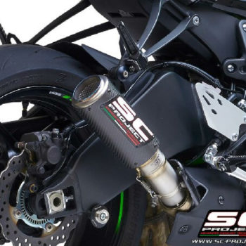 SC Project CRT K35 T36C Slip On Carbon Fiber Exhaust For Kawasaki Ninja ZX 6R 2