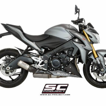 SC Project CRT S11A 36TR Slip On Titanuim with Mesh Exhaust For Suzuki GSX S1000 1