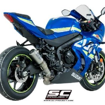 SC Project CRT S16 T36TR Slip On Titanium With Titanium Mesh Exhaust For Suzuki GSX R1000 1
