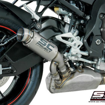 SC Project GP70 R B27 T70T Slip On Titanuim Exhaust For BMW S1000 R 2