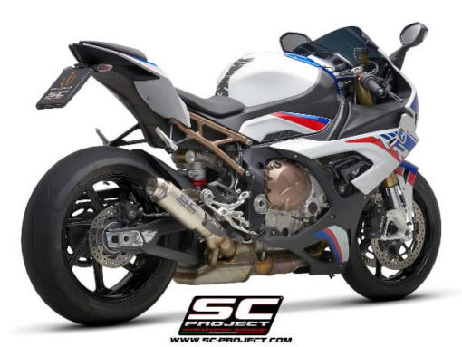 SC Project GP70 R B33 70T Slip On Titanuim Exhaust For BMW S1000 RR 1