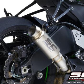 SC Project GP70 R K35 T70T Slip On Titanium Exhaust For Kawasaki Ninja ZX 6R 636 2