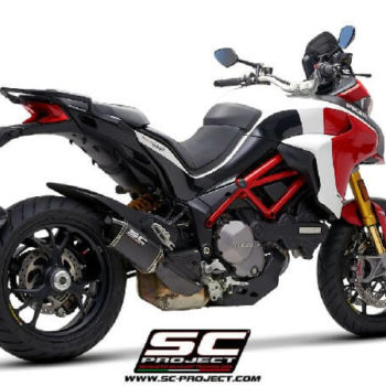 SC Project MTR D30 110C Slip on Carbon Fiber Exhaust For Ducati Multistrada 1260 1