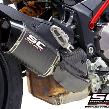 SC Project MTR D30 110C Slip on Carbon Fiber Exhaust For Ducati Multistrada 1260 2
