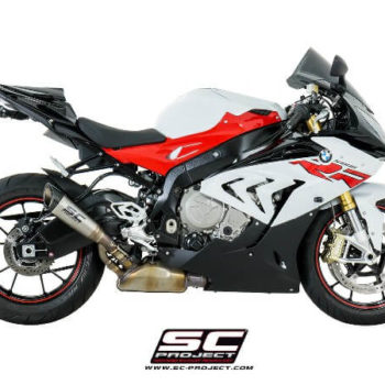 SC Project S1 B25 T41T Slip On Titanium Exhaust For BMW S1000 RR 2