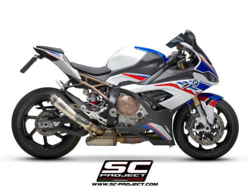 SC Project S1 B33 41T Slip On Titanium Exhaust For BMW S1000 RR 3