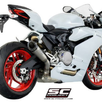 SC Project S1 D20 T41T Slip On Titanium Exhaust For Ducati Panigale 959 1
