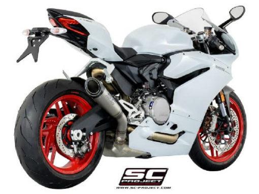 SC Project S1 D20 T41T Slip On Titanium Exhaust For Ducati Panigale 959 1