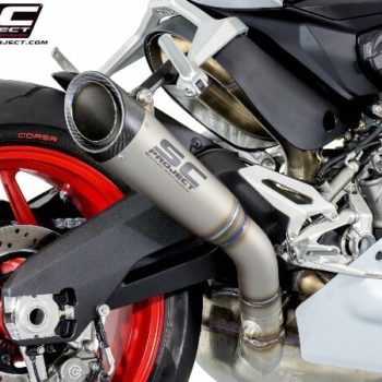 SC Project S1 D20 T41T Slip On Titanium Exhaust For Ducati Panigale 959 2