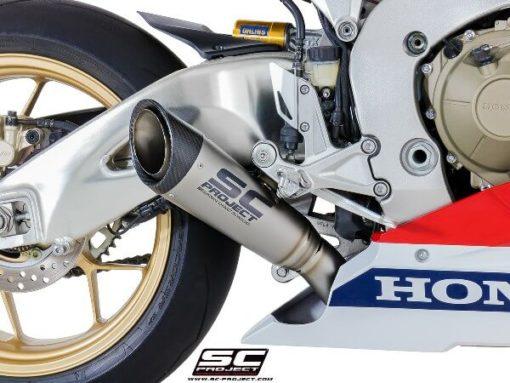 SC Project S1 H15 LT41T Slip On Titanium Exhaust For Honda CBR 1000RR 2