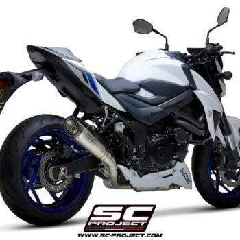 SC Project S1 S15 T41T Slip On Titanium Exhaust For Suzuki GSX S750 1