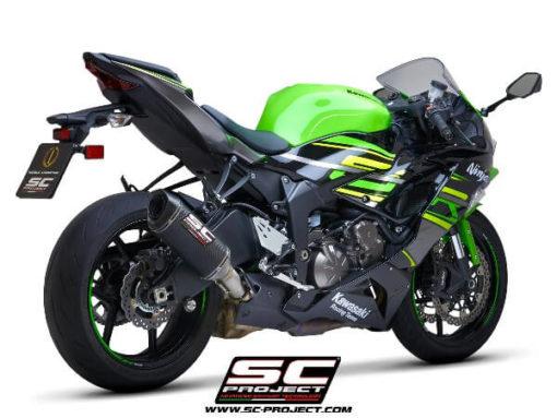 SC Project SC1 M K35 T113C Slip On Carbon Fiber Exhaust For Kawasaki Ninja ZX 6R 636 1