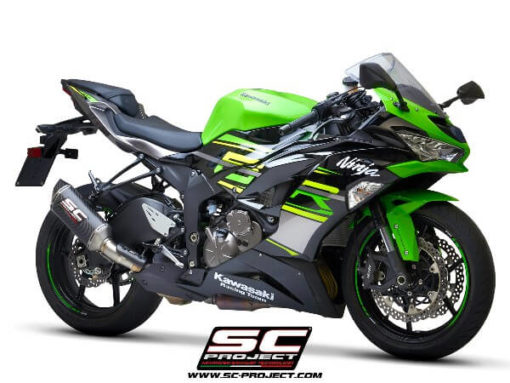 SC Project SC1 M K35 T113C Slip On Carbon Fiber Exhaust For Kawasaki Ninja ZX 6R 636 3
