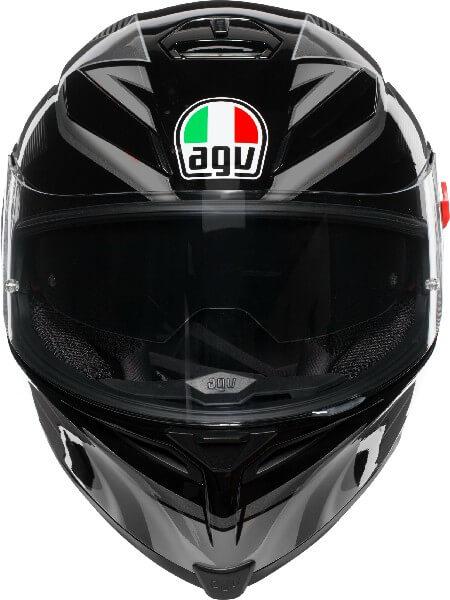 AGV K5 S Hurricane 2.0 Multi Plk Matt Black Gun Metal White Full Face Helmet 2020 3