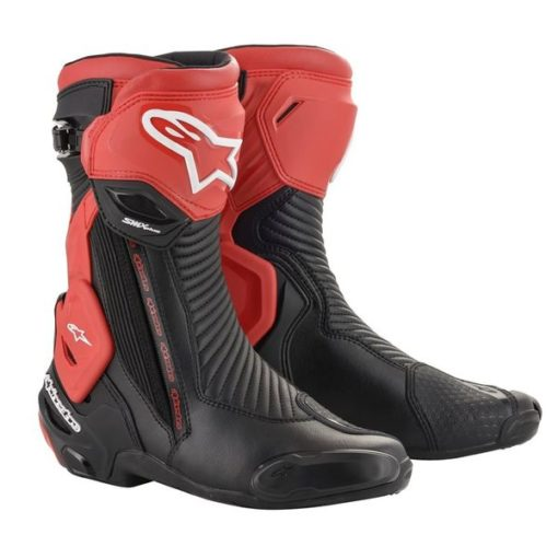 Alpinestars SMX Plus V2 Black Red Riding Boots