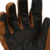 Bikeratti Equator Summer Leather Brown Riding Gloves 4