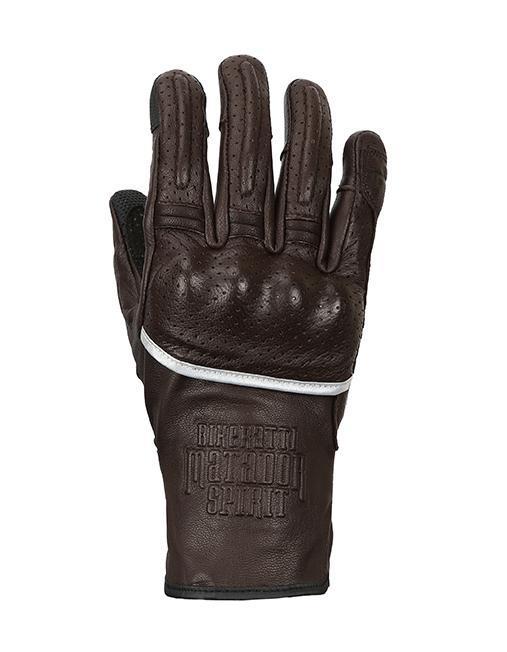 Bikeratti Matador Spirit Classic Brown Riding Gloves 1