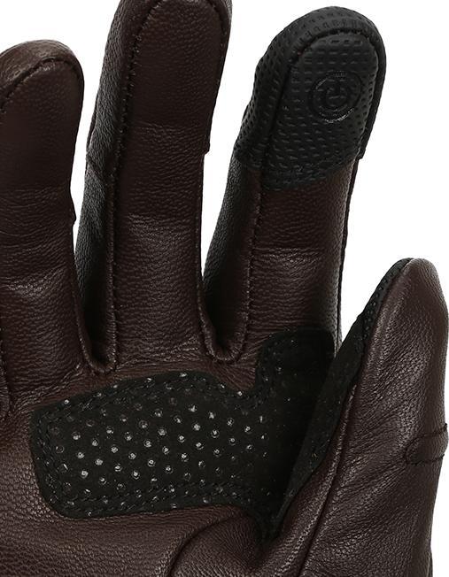 Bikeratti Matador Spirit Classic Brown Riding Gloves 3
