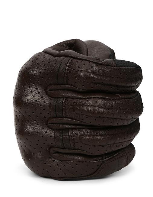 Bikeratti Matador Spirit Classic Brown Riding Gloves 4