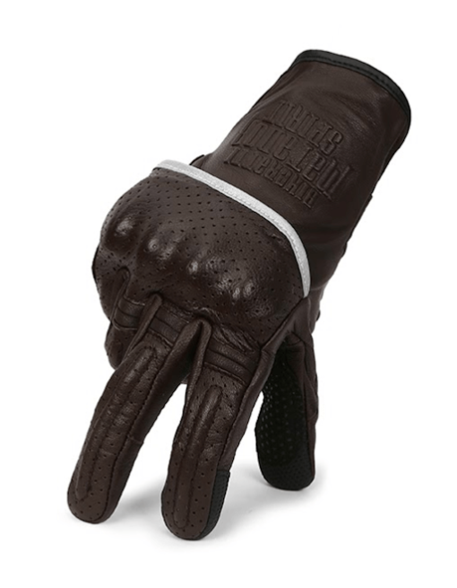 Bikeratti Matador Spirit Classic Brown Riding Gloves 5