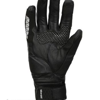 Bikeratti Meridian Black Grey Riding Gloves 1