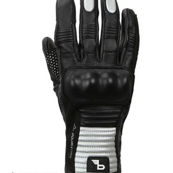 Bikeratti Meridian Black Grey Riding Gloves 2