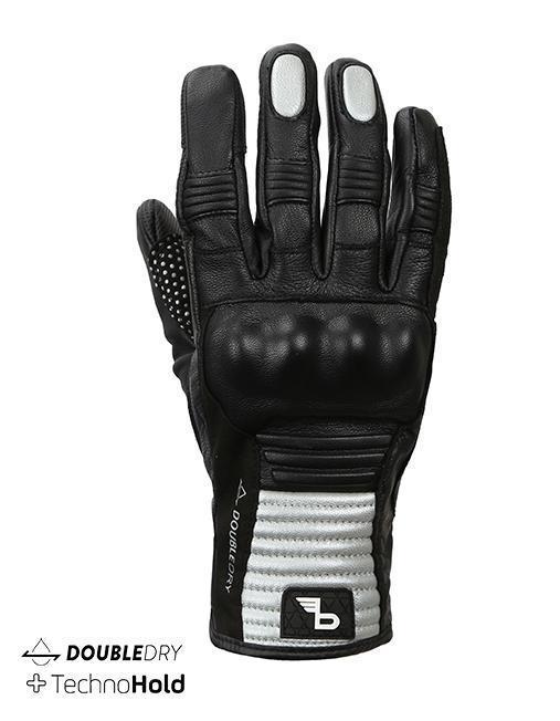 Bikeratti Meridian Black Grey Riding Gloves 2