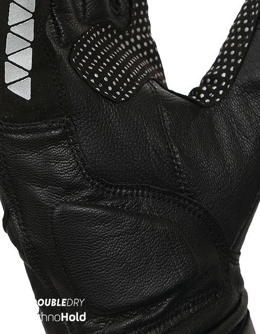 Bikeratti Meridian Black Grey Riding Gloves 3