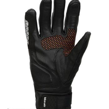 Bikeratti Meridian Black Orange Riding Gloves 2