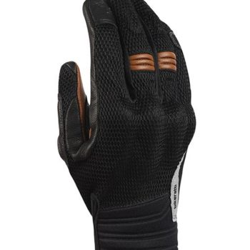 Bikeratti Vind Summer Black Brown Riding Gloves 1